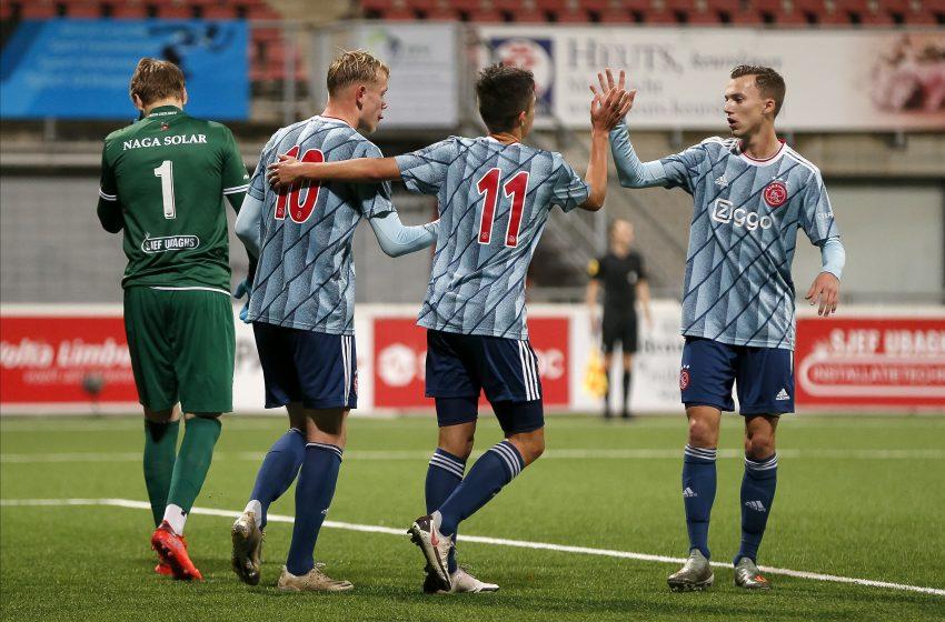 Giovanni marca e o Jong Ajax vence MVV Maastricht por 5 a 1