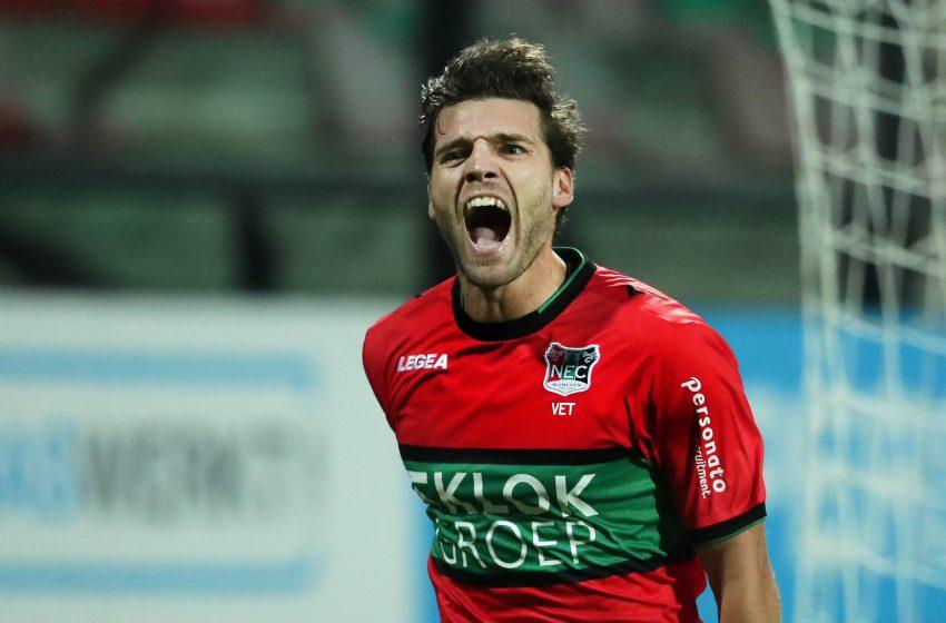 Norbert Alblas garante vitória do NEC Nijmegen diante do Go Ahead Eagles