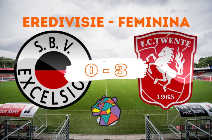 Sem dificuldades, o FC Twente bate o Excelsior por 3 a 0