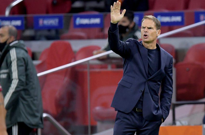 Frank de Boer comenta derrota para o México