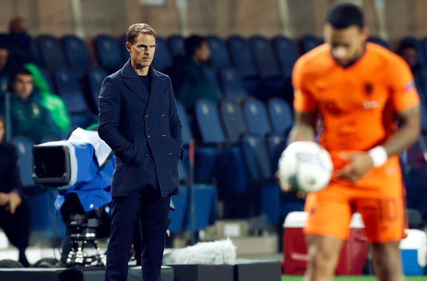 """Frank de Boer explica saída: """"Aumentar a pressão não é o que a equipe precisa"""""""