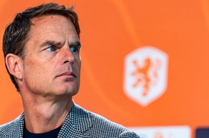 Quais são os problemas de Frank de Boer para a Eurocopa?