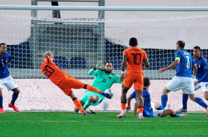 Itália e Holanda ficam no empate em 1 a 1
