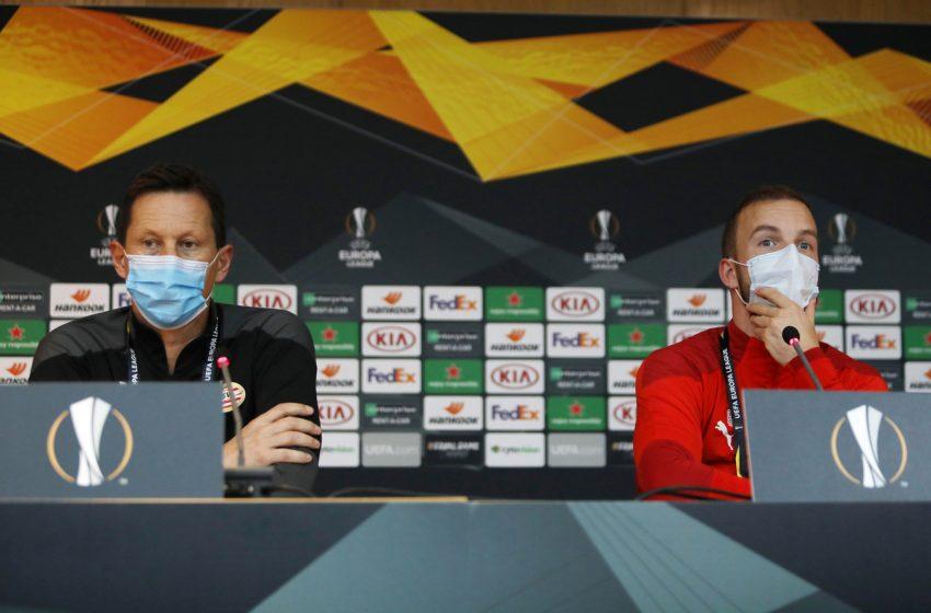Roger Schmidt e Jorrit Hendrix afirma que o PSV lutará pela vitória diante do AC Omónia Nicósia