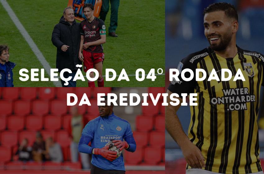Confira as seleções da quarta rodada da Eredivisie 2020/21
