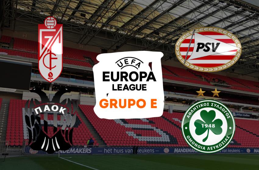 Conheça os adversários do PSV na fase de grupos da Liga Europa