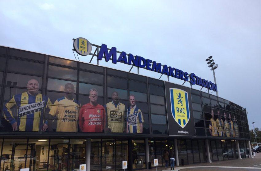 RKC Waalwijk anuncia renovação com três patrocinadores
