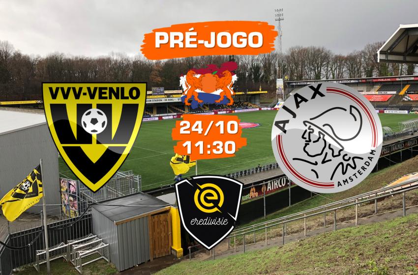 VVV-Venlo v Ajax: Tudo que você precisa saber para acompanhar a partida
