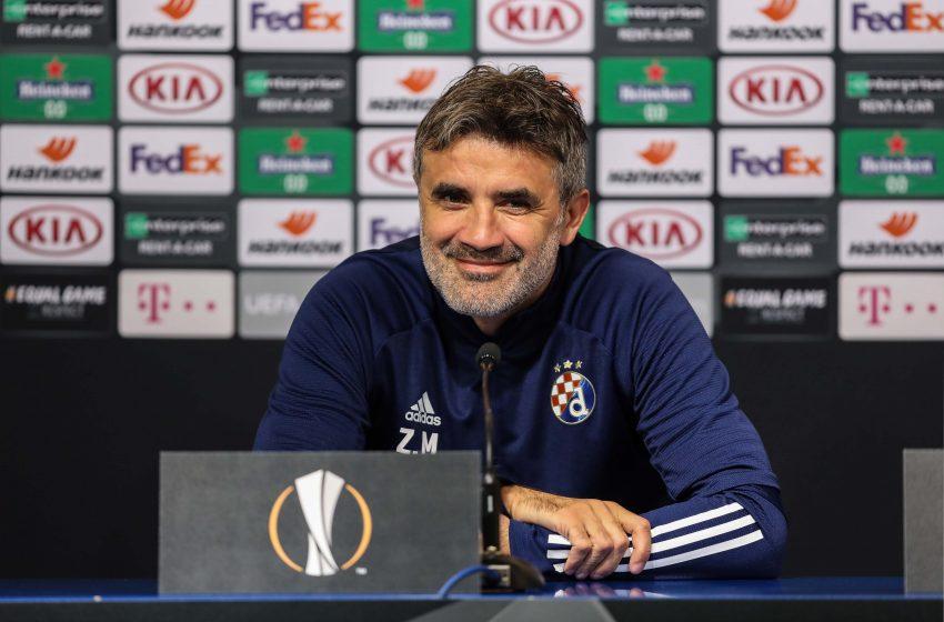Treinador do GNK Dinamo Zagreb comenta sobre jogo contra o Feyenoord
