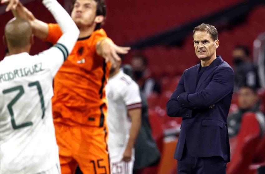 Na estreia de Frank de Boer, Holanda perde em casa para o México