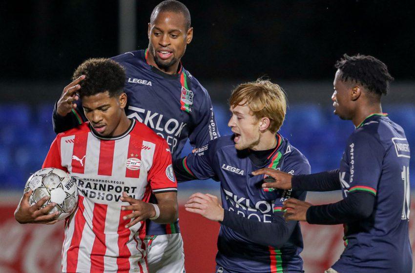 Jong PSV e NEC Nijmegen ficam no empate em 1 a 1
