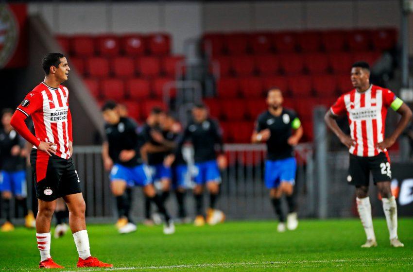 PSV estreia com derrota na Liga Europa diante do Granada CF