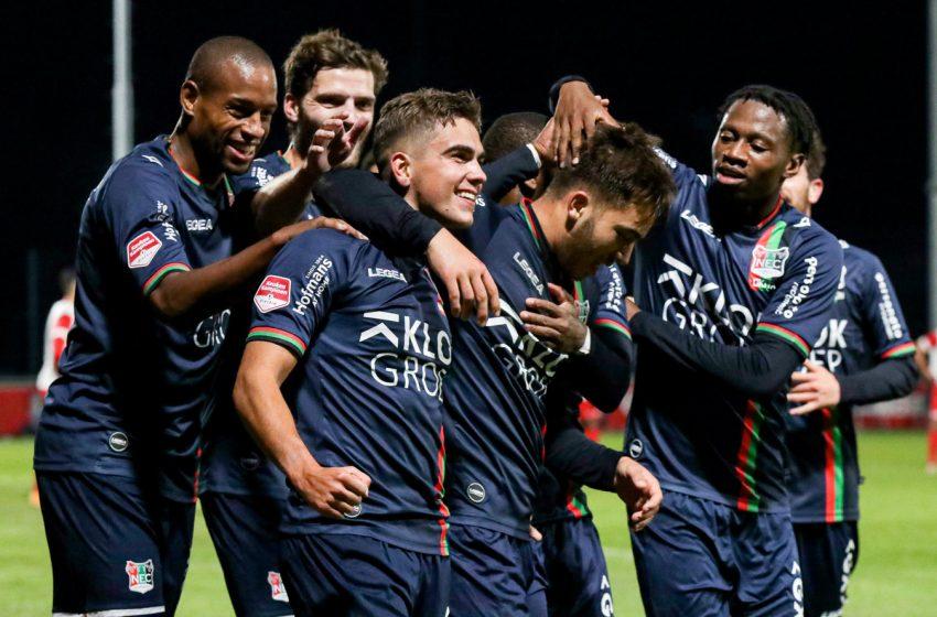 NEC Nijmegen mantém o tabu e bate o Jong FC Utrecht por 4 a 1