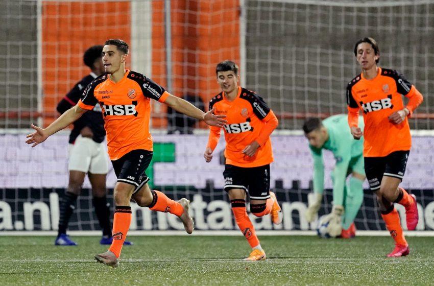FC Volendam passa o carro por cima do Jong PSV e volta a vencer após dois empates