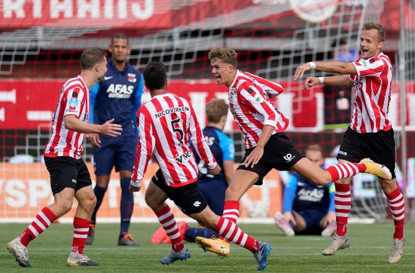 Sparta Rotterdam sai perdendo por 4 a 0, mas consegue o empate contra o AZ Alkmaar