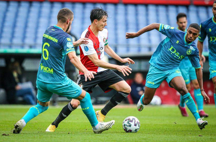 Em clássico de Roterdã, Feyenoord tropeça em casa diante do Sparta Rotterdam