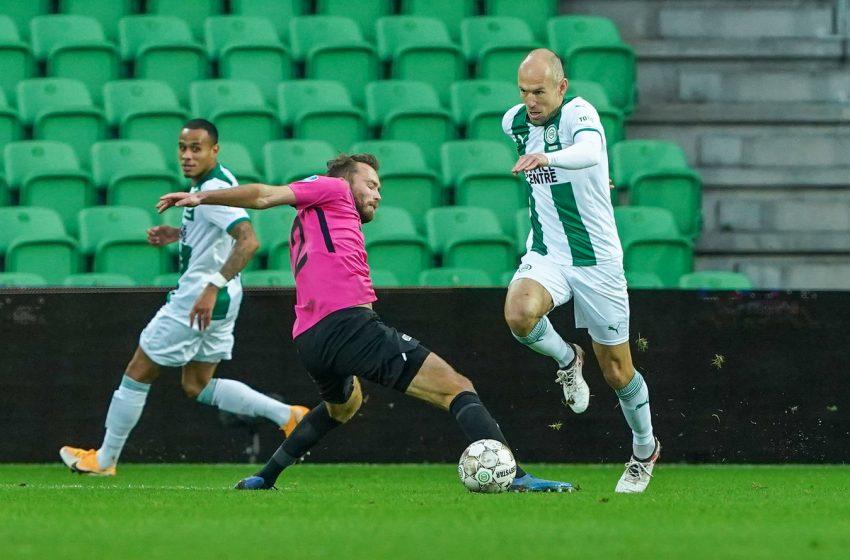 Com Arjen Robben em campo, FC Groningen fica no empate sem gols contra o FC Utrecht
