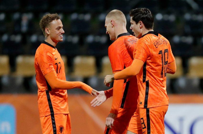 Holanda Sub21 vence Gibraltar e fica mais próxima da Eurocopa Sub21