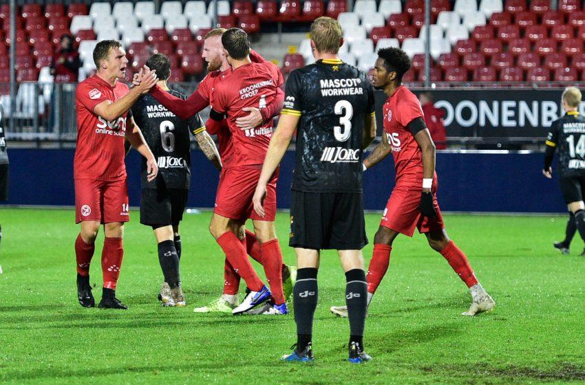 Almere City vence Roda JC de virada e assume a segunda colocação