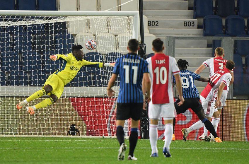 Ajax deixa escapar vitória na Itália diante da Atalanta