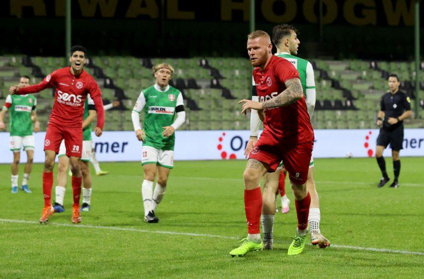 Almere City FC tropeça fora de casa contra o FC Dordrecht
