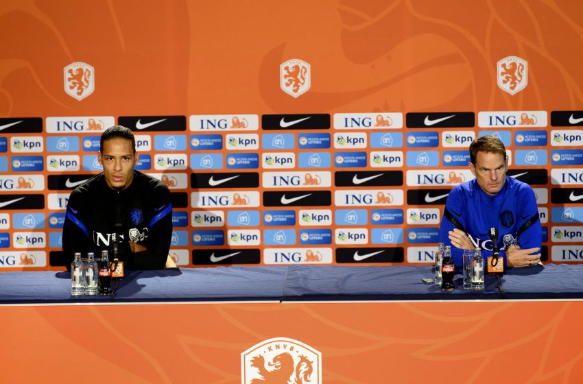 Frank de Boer preferia uma semana para trabalhar do que amistoso contra o México