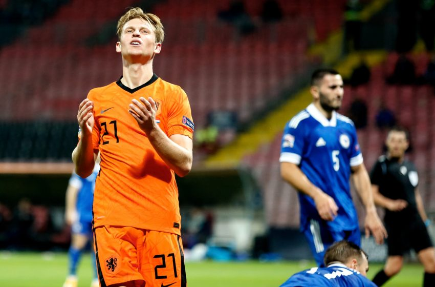 Holanda fica no 0 a 0 com a Bósnia fora de casa