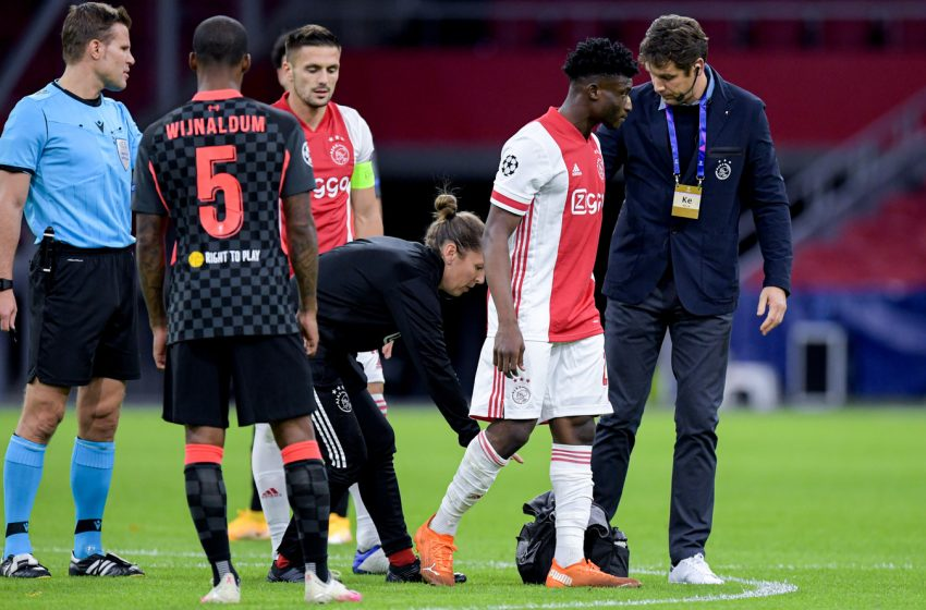 Mohammed Kudus preocupa o Ajax