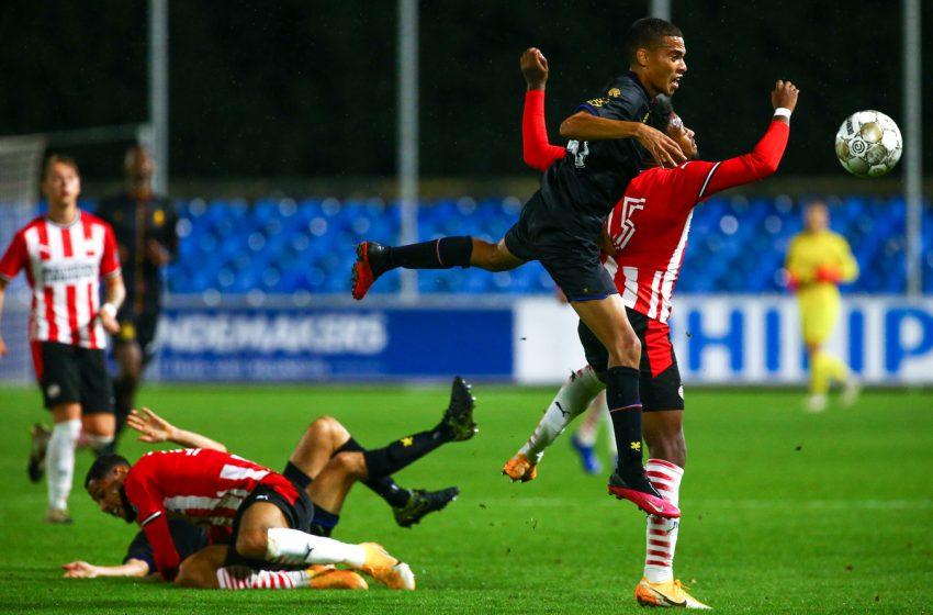 Jong PSV mantém o tabu e vence novamente o SC Telstar em Eindhoven