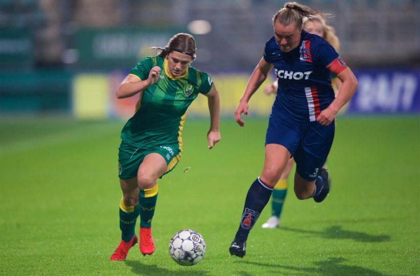 ADO Den Haag tropeça em casa diante do vv Alkmaar pela Eredivisie Feminina