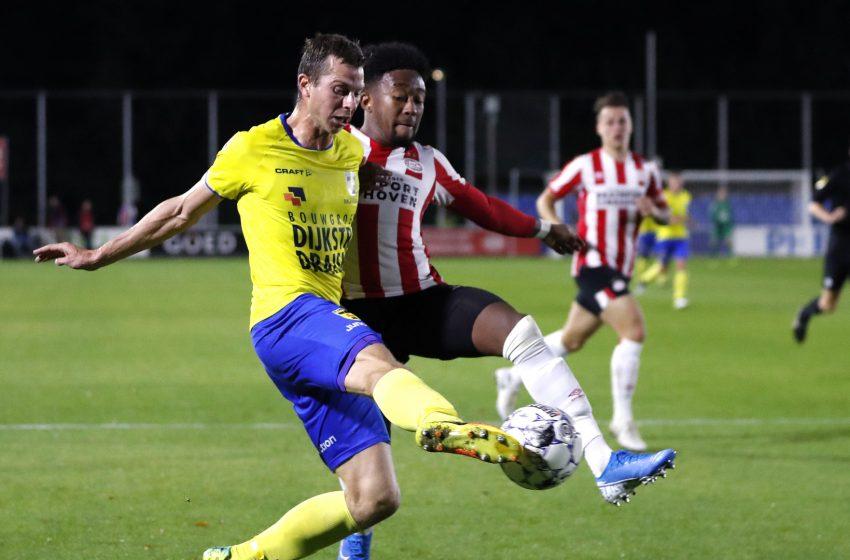 Jogo entre Jong PSV e SC Cambuur adiado