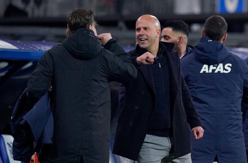 Feyenoord anuncia Arne Slot para a próxima temporada
