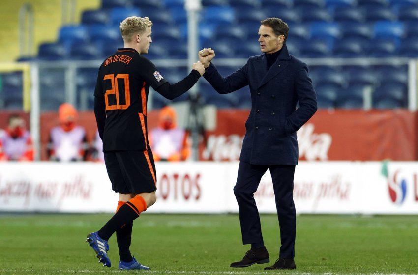 """Frank de Boer: """"Eu vi mais coisas positivas do que negativas"""""""