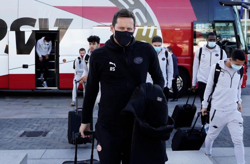 PSV embarca para a Grécia com 19 jogadores