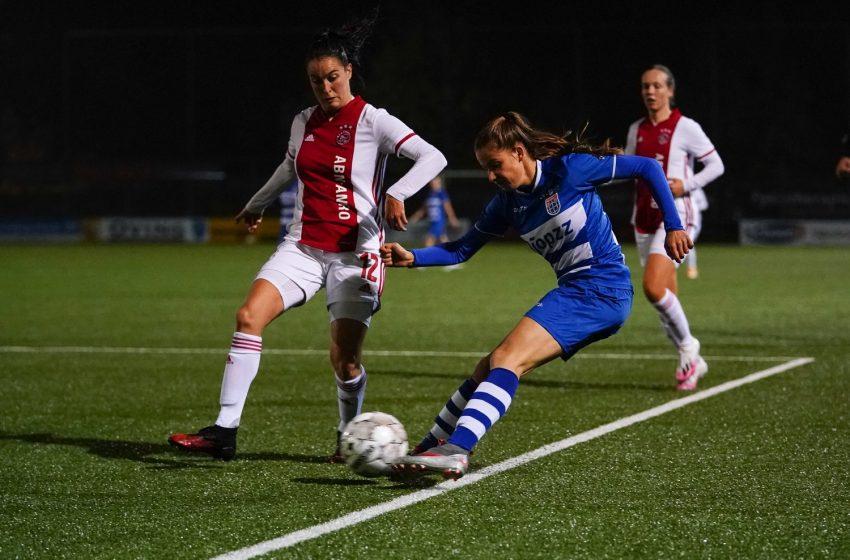 Ajax bate PEC Zwolle e segue 100% na Eredivisie Feminina