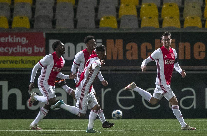 Jong Ajax busca virada e bate o SC Cambuur fora de casa