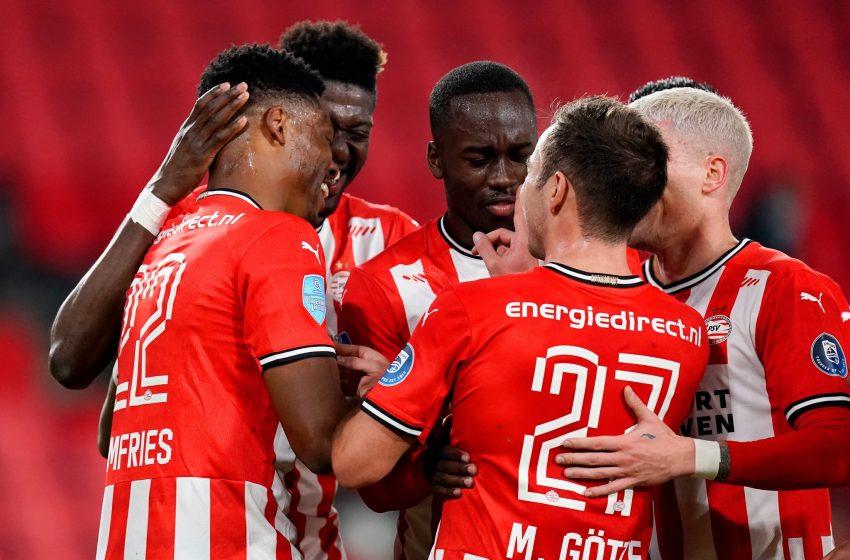 PSV fecha oitava rodada com vitória diante do Willem II em Eindhoven
