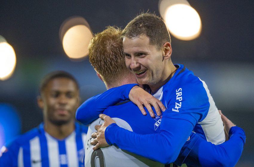 FC Eindhoven goleia o FC Dordrecht
