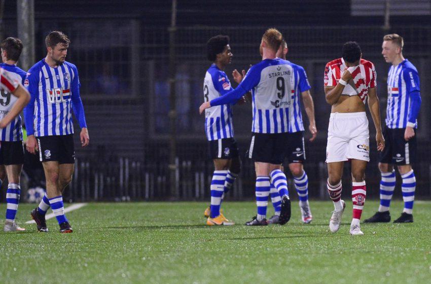 Jort van der Sande salva FC Eindhoven de um tropeço diante do TOP Oss