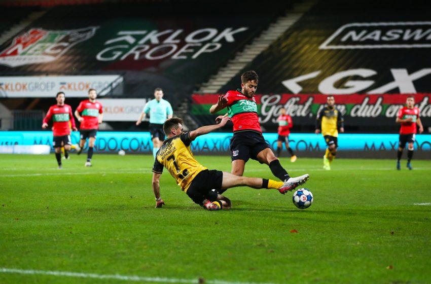 NEC Nijmegen e Roda JC empatam em 1 a 1