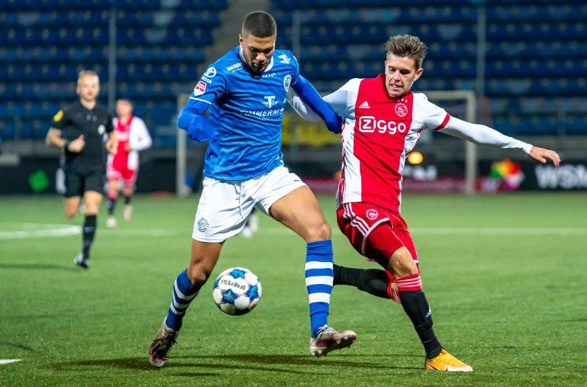 Jong Ajax abre vantagem, mas ver FC Den Bosch empatar