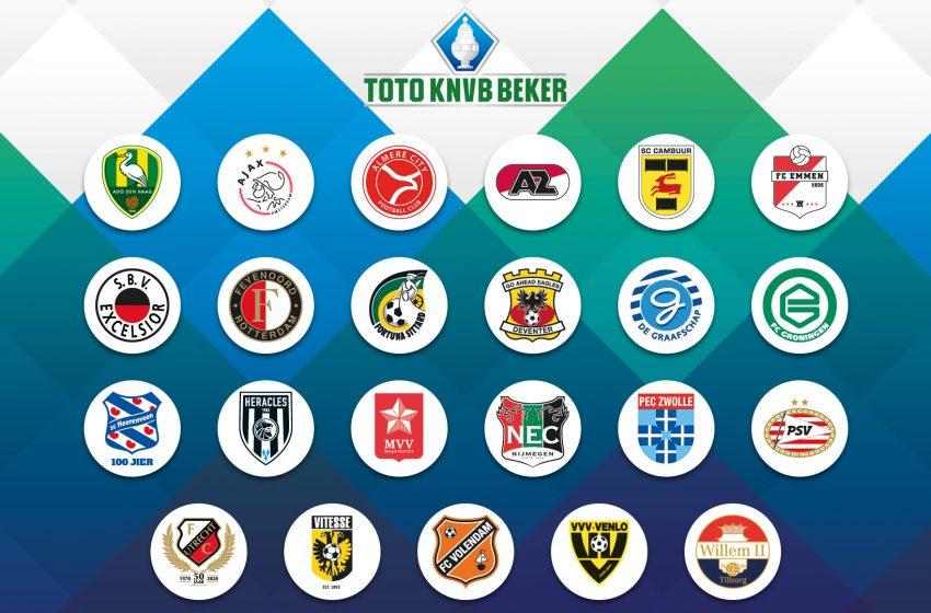 KNVB sorteia o confronto da segunda fase da Copa da Holanda