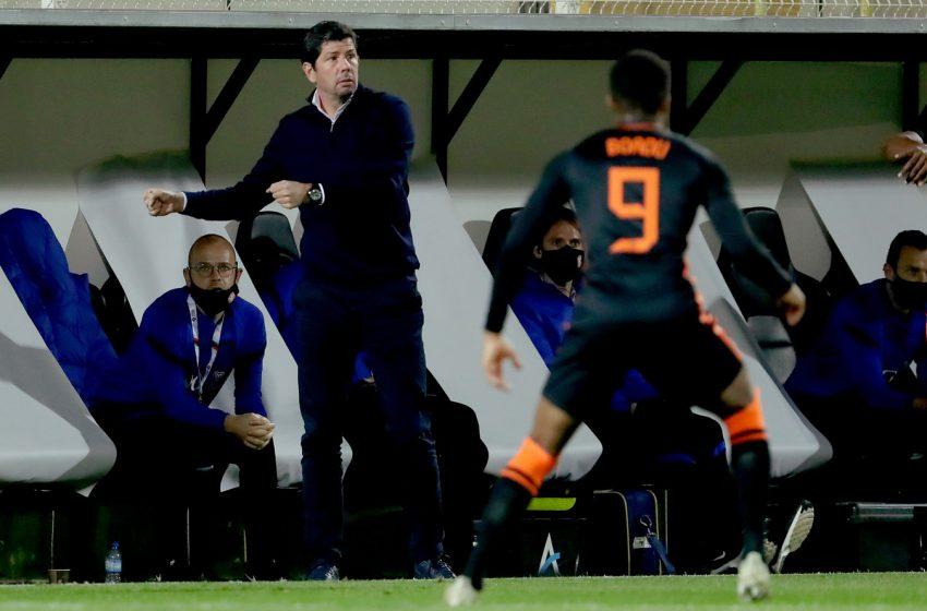 Erwin van de Looi fala antes da estreia da Holanda U21 na Eurocopa Sub21