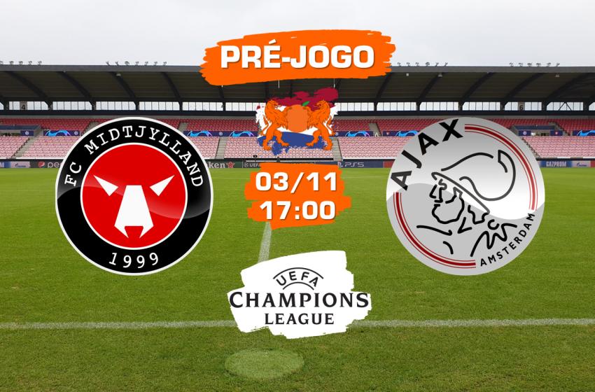 FC Midtjylland v Ajax: Tudo que você precisa saber para acompanhar a partida