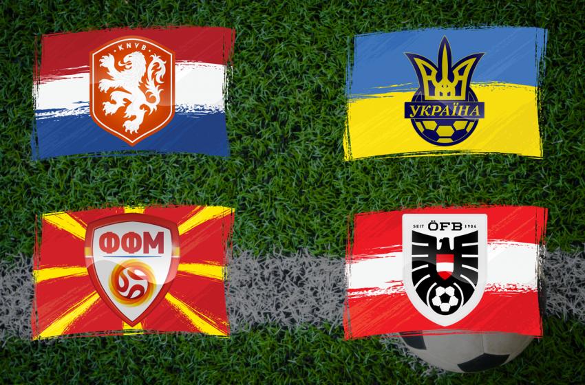 Holanda conhece todos os seus adversários na Eurocopa 2021