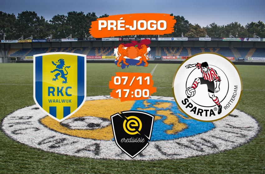 RKC Waalwijk v Sparta Rotterdam: tudo que você precisa saber para acompanhar a partida