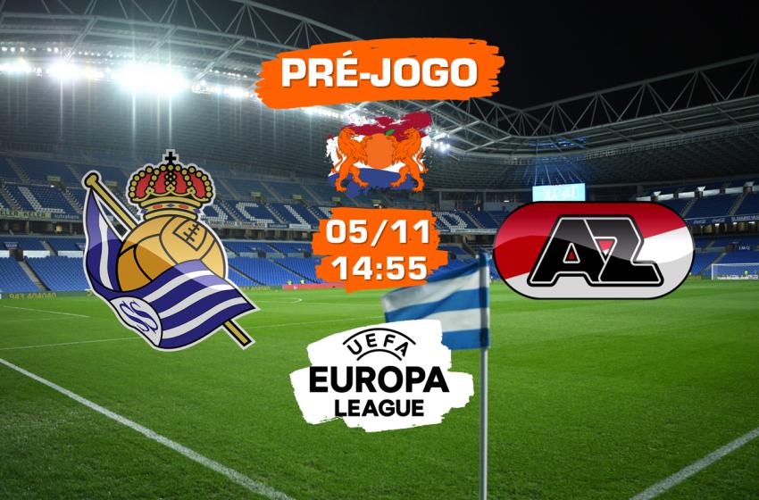 Real Sociedad v AZ Alkmaar: Tudo que você precisa saber para acompanhar a partida