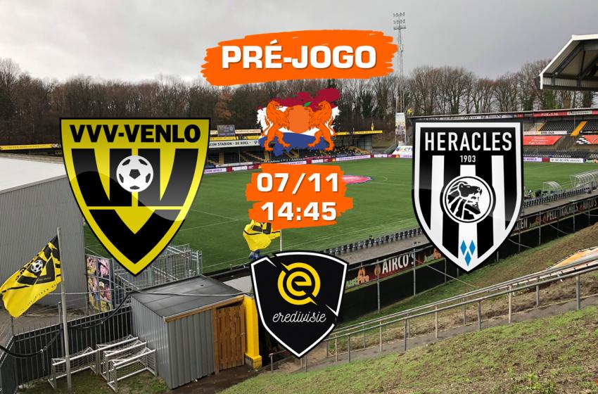 VVV-Venlo v Heracles: tudo que você precisa saber para acompanhar a partida