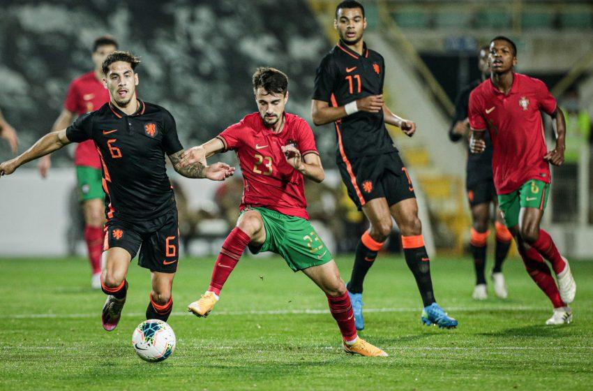 Holanda Sub21 encerra as Eliminatórias para Eurocopa com derrota para Portugal