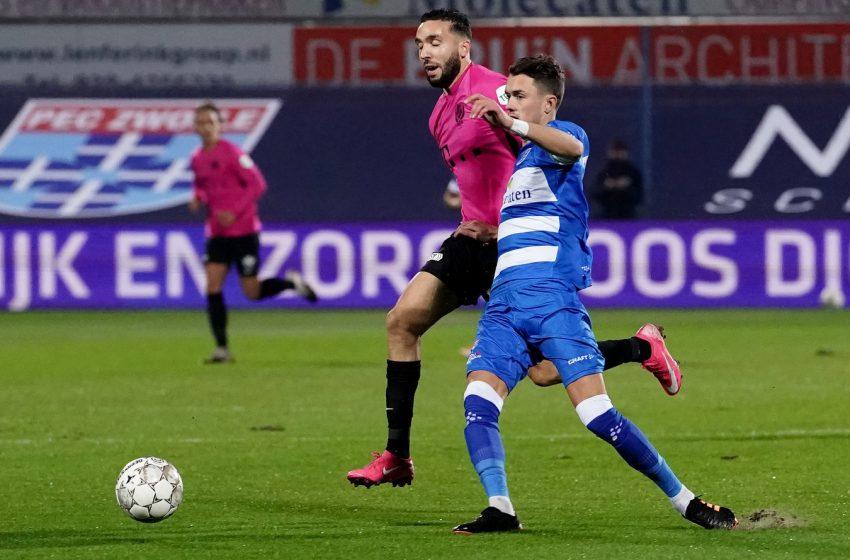 PEC Zwolle e FC Utrecht empatam em 1 a 1